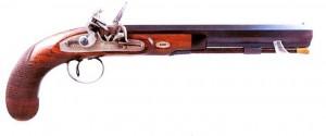 Steinschloßpistole