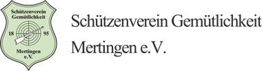 Schützenverein Gemütlichkeit logo